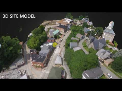 Ellicott City, MD Flood Damage Drone 3D Mapping