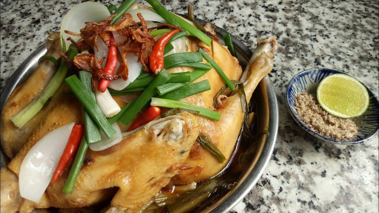 Cách làm GÀ HẤP HÀNH Miền Tây thơm ngon ngọt thịt – Món Ăn Ngon Mỗi Ngày