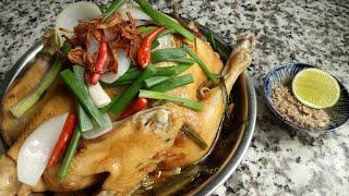 Cách làm GÀ HẤP HÀNH Miền Tây thơm ngon ngọt thịt - Món Ăn Ngon Mỗi Ngày