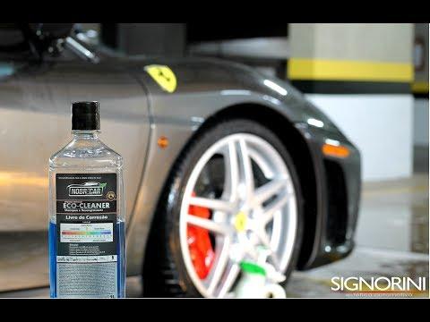Shampoo desengraxante Eco Cleaner Blue Nobre Car.