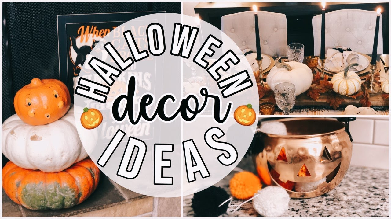 Elegant Halloween Decor Ideas + Haul! Homegoods | Walmart |Dollar Tree | Simply Lake & Lace Collab