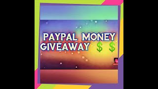 Free Paypal Money Giveaway!!!!