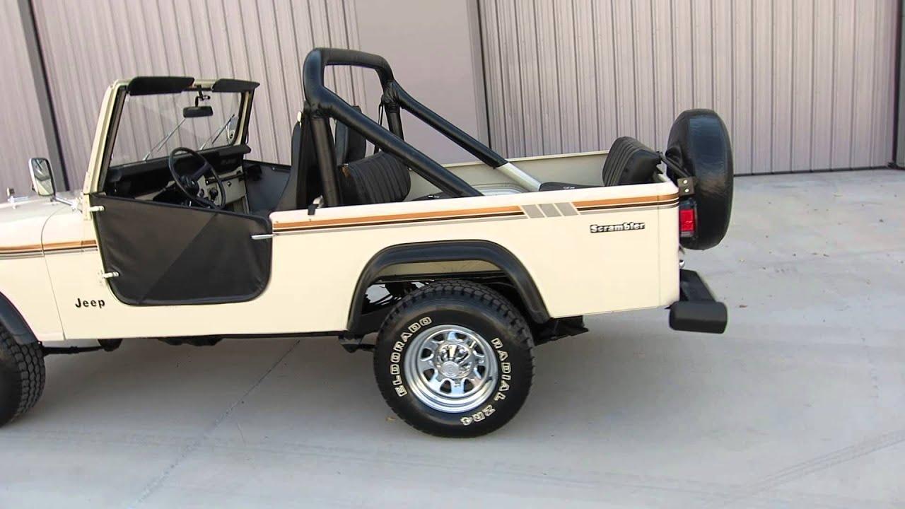 Scottsdale Jeep 1985 Jeep Scrambler CJ-8 30k Original Miles VERY RARE For ...