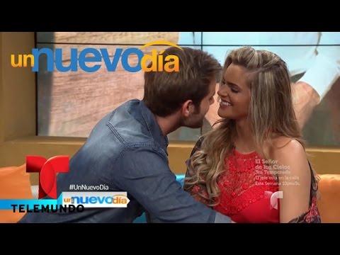Tierra de Reyes: Gabriel Rossi le roba un beso a Isabella Castillo | Un Nuevo Día | Telemundo