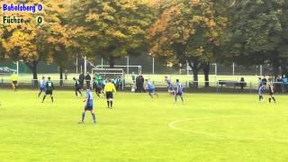 06. - Regionalliga - SV Babelsberg 03 U17 gegen die Füchse Berlin Reinickendorf U17