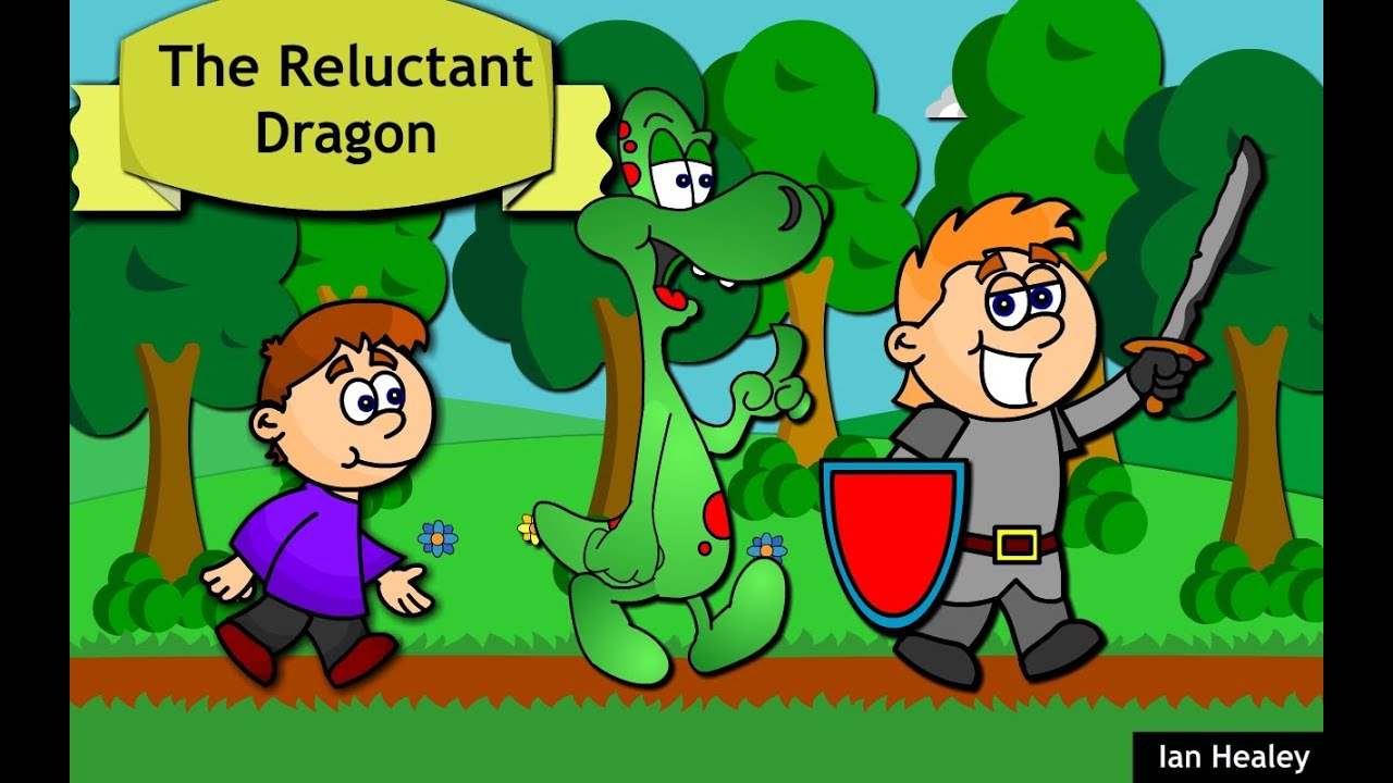 the reluctant dragon story time for children youtube