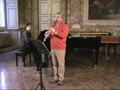 A. Giampieri, Il carnevale di Venezia - Sergio Bosi clarinet