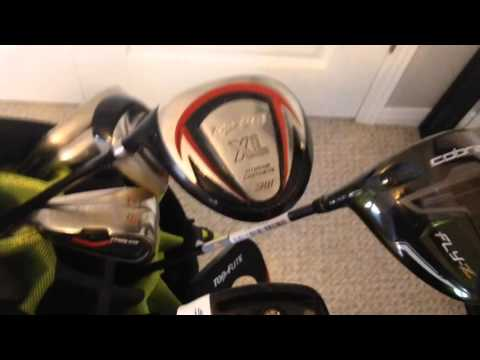 What's in the golf bag 2016