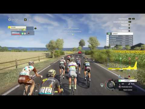 Tour de France 2016 game losing the yellow jersey