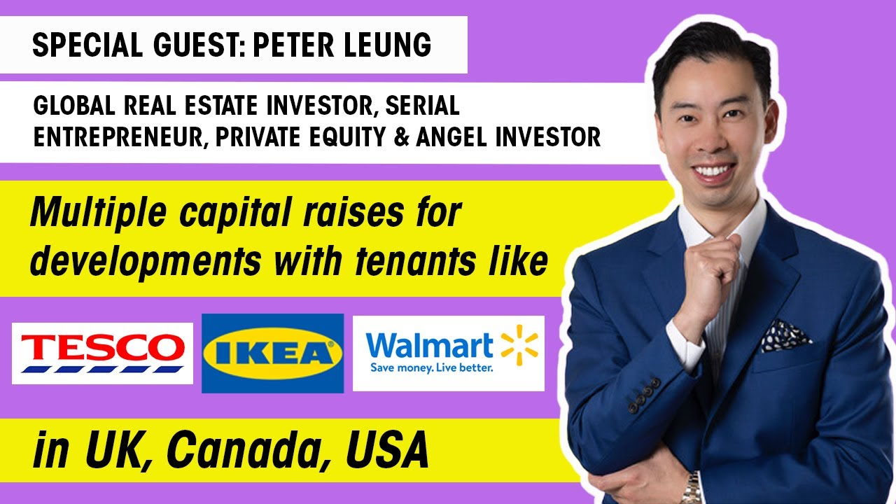 The Capital Raising Show Ep 9. - ft. Peter Leung