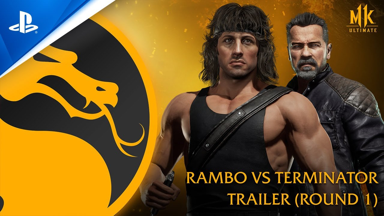 Mortal Kombat 11 Ultimate - Official Rambo vs. Terminator Trailer | PS4, PS5