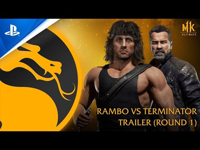 Mortal Kombat 11 Ultimate - Official Rambo vs. Terminator Trailer | PS4, PS5