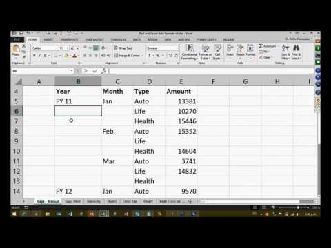 Data Analytics Part 2: How to fill gaps in time-series data