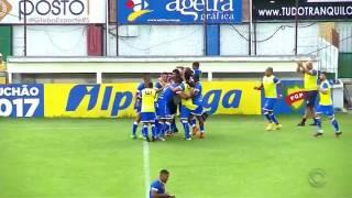 Gauchão 2017: Gols do empate em Veranópolis