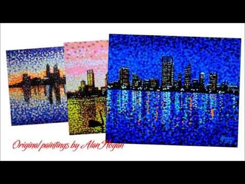 Paintings of Perth - Music: 'Lights' by Badding Somerjoki