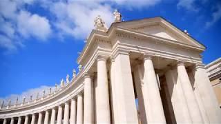 世界遺産・バチカン市国  サン・ピエトロ大聖堂・4K