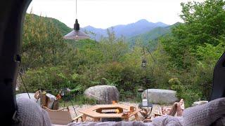 [캠핑] 지리산 천왕봉 바라보며 차박캠핑ㅣ열흘간의 즉흥…