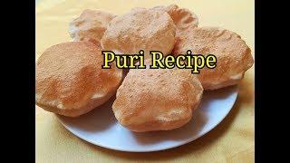 #Poori Recipe #Puri Recipe - How To Make #Puri Recipe in Hindi #Wheat Flour Puri Recipe in Hindi