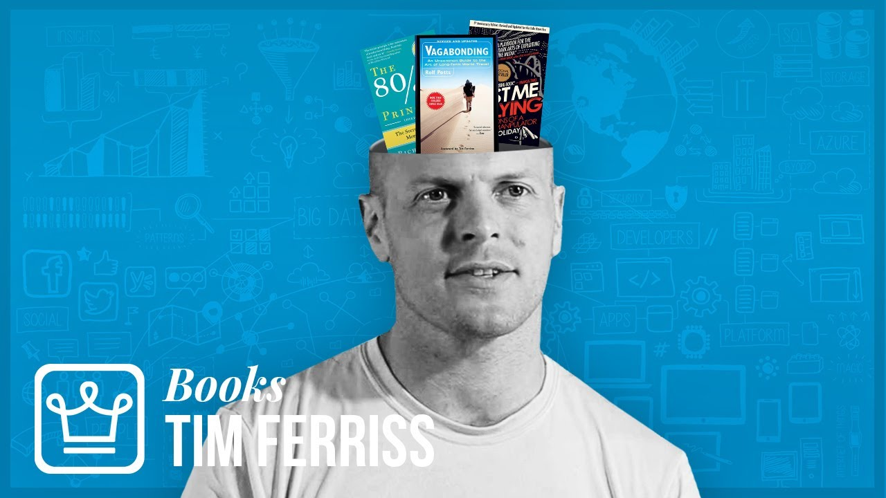 15 Books TIM FERRISS Thinks EVERYONE Should Read