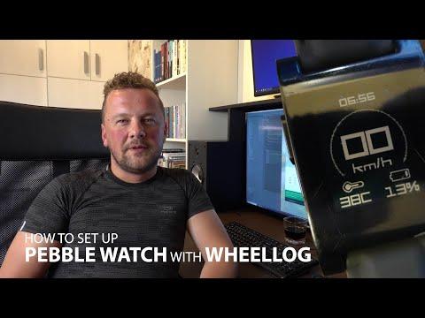How To Setup Pebble Watch With WheelLog