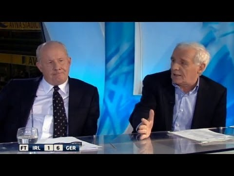 "Eamon Dunphy: ""We have to say stop"" - Republic of Ireland 1-6 Germany"