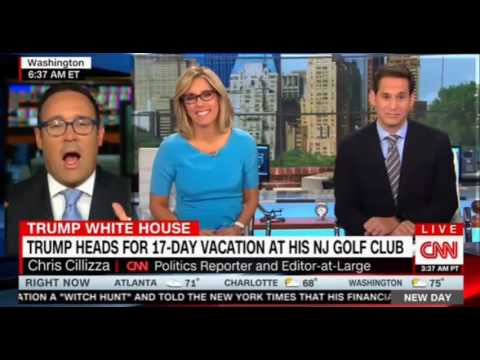 Trump Slammed Obama for Taking Vacation, but He Just Booked 17 day Golf retreat
