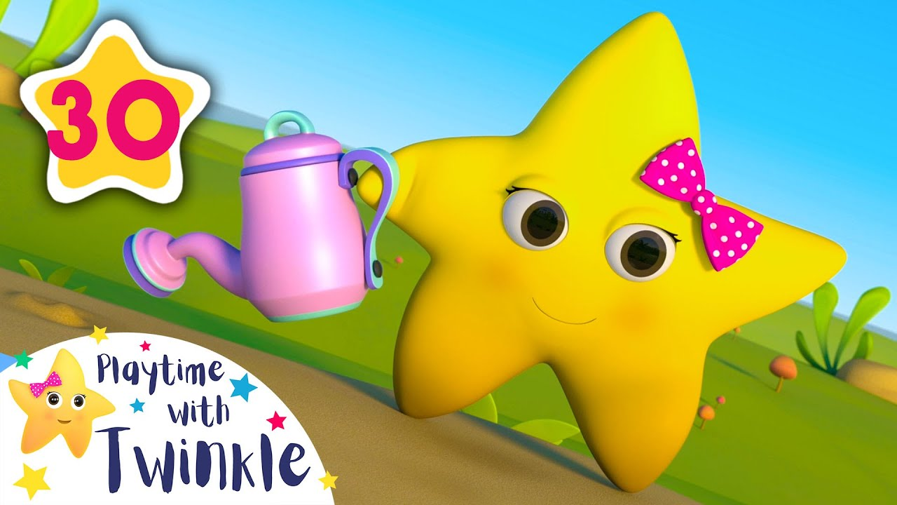 Learn How Plants Grow with Twinkle | Kids Songs & Nursery Rhymes | ABC & 123 | Learn with Twinkle