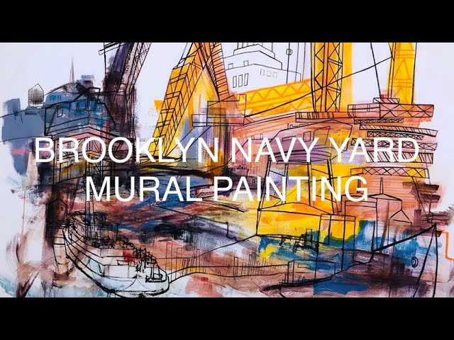 Brooklyn Navy Yard Mural Art Film