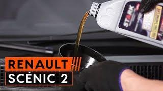 Kuinka vaihtaa Öljynsuodatin RENAULT SCÉNIC II (JM0/1_) - ilmaiseksi video verkossa