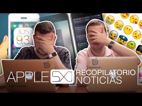 Noticias: iOS 9.3.3 y OS X 10.11.6, Dark Mode y nuevos emoji en iOS 10