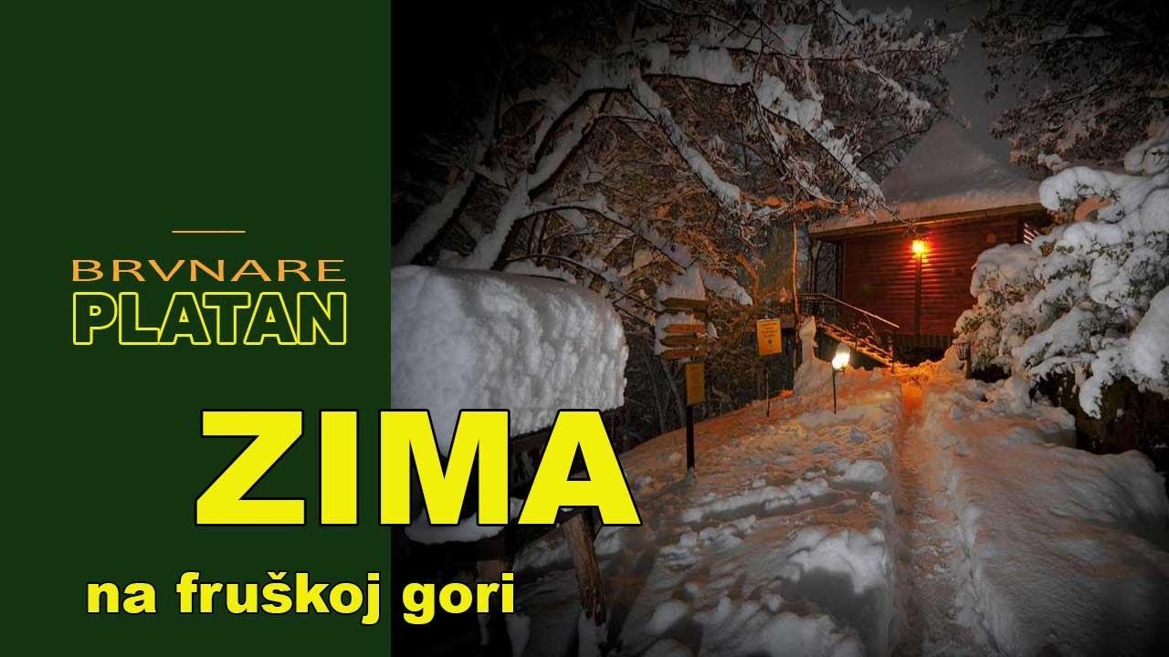 Sneg na Fruškoj Gori - ZIMA Platan
