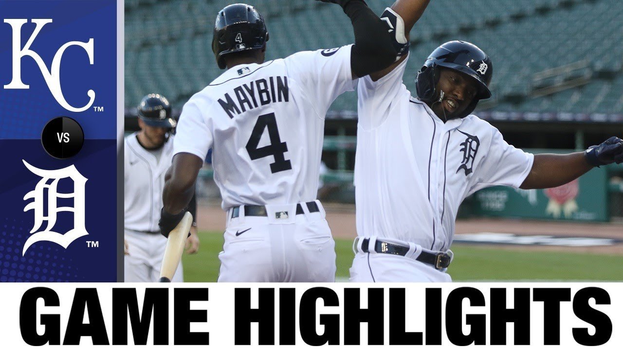 Christin Walker's HR propels Tigers to win | Royals-Tigers Game Highlights 7/28/20