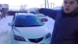 Обзор Mazda 2 интерьер экстерьер 2003 год 1.4