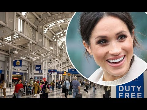 Meghan Markle arrives at Chicago airport incognito one month before her wedding to Prince Harry