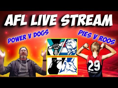 💥 AFL LIVE STREAM - DOUBLE HEADER 💥 WITH WILL 🙏 || PORT V DOGS || PIES V ROOS ||