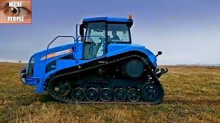 Гусеничный трактор руслан для сельскохозяйственных работ