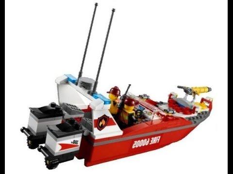 lego city le bateau des pompiers lego jouets pour les enfants