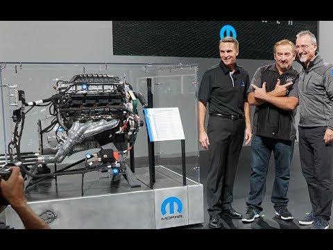 DODGE 426 HEMI ENGINE OFFICIAL UNVEILING AT SEMA 2018 LAS VEGAS! - MOPAR PRESS CONFERENCE