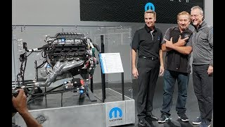 DODGE 426 HEMI ENGINE OFFICIAL UNVEILING AT SEMA 2018 LAS VEGAS! - MOPAR PRESS CONFERENCE