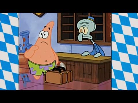 Spongebob - Bayrisch // Lieblingsgetränk?
