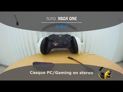 most popular timeless design sports shoes TUTO] Brancher un casque en stereo sur Xbox One - YouTube