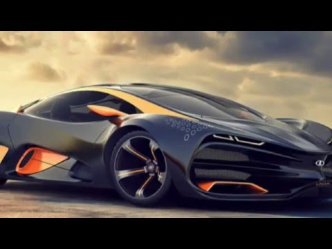 Russian Supercar Lada Raven Fire Concept Youtube