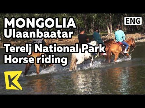 【K】Mongolia Travel-Ulaanbaatar[몽골 여행-울란바토르]테를지 국립공원 말 타기/Terelj River/Horse riding/Natural/Unesco