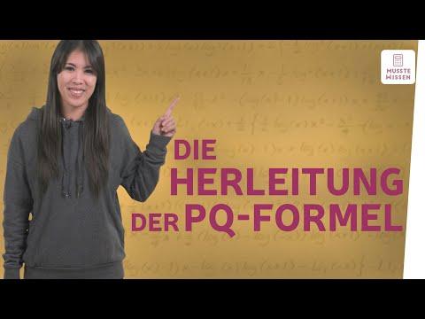 Woher kommt die pq-Formel? I musstewissen Mathe