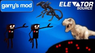 Garry's Mod Elevator Source FUNNY MOMENTS!