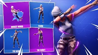 *NEW* TOP 5 RAREST FORTNITE EMOTES OF ALL TIME! (0.000001% HAS THESE EMOTES)