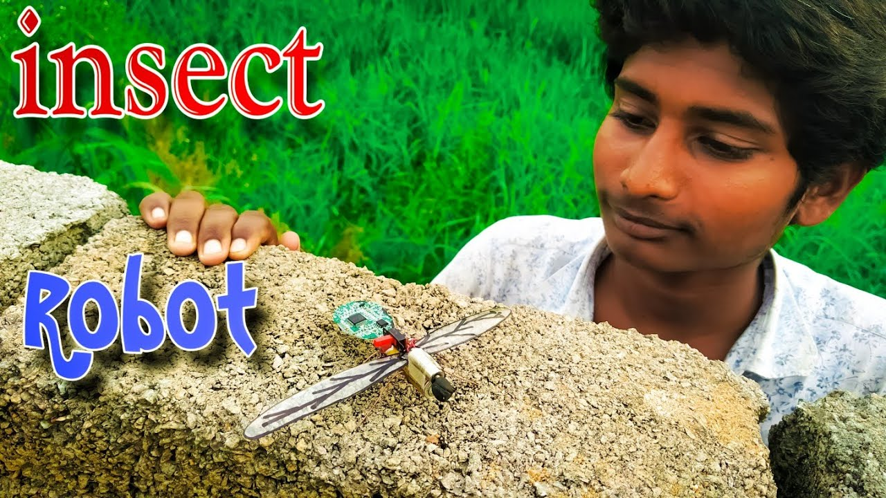 Download How to Make a Insect Robot | Simple Insect Robot | Flying Insect Robot | VERY EASY | walking Robot