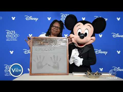 Whoopi Goldberg Named Disney Legend At D23 Expo  The View