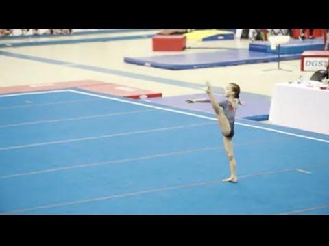 Gymnastics level 3 floor routine 2018