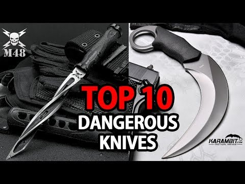 Top 10 Most Dangerous & Deadly knives in the world | My Deal Buddy